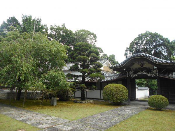 陽松庵の入り口です。