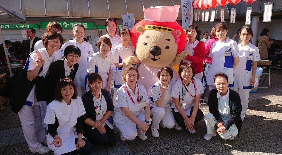 池田市の3つ病院職員はみんな仲良し~!